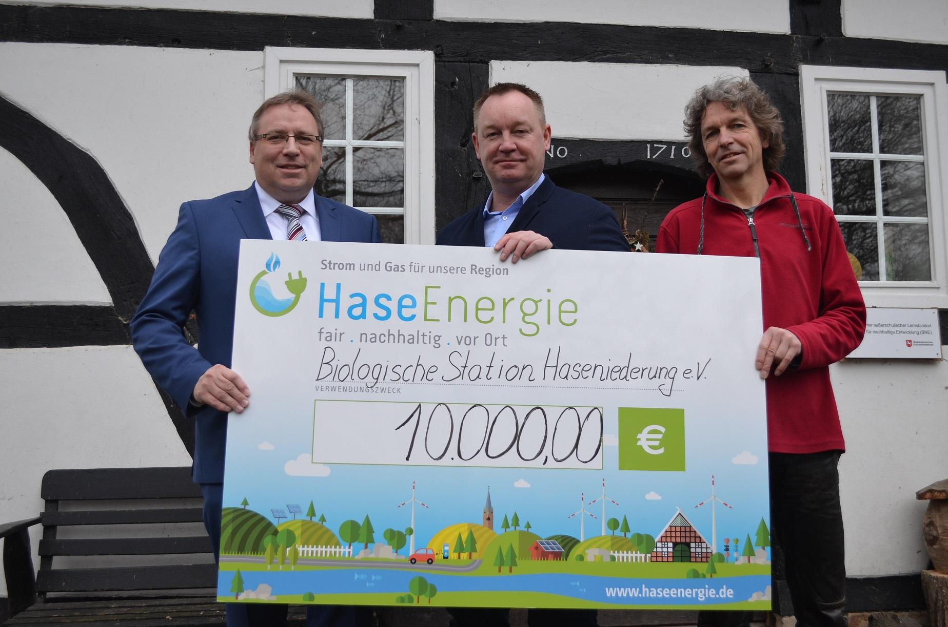 HaseEnergie spendet f Biol. Station Alfsee Jan 2019 DSC_0026
